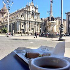 Piazza Duomo, Catania nel Catania, Sicilia