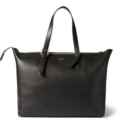 Grained-Leather Tote Bag - Smythson