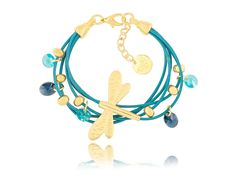 Bracelet BIL 2635 on www.bydziubeka.pl #bydziubeka #jewelry #bracelet #blue #shop #online #summer #ilove #collection