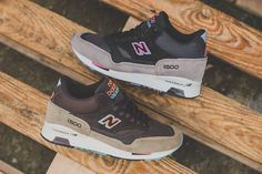 New Balance 1500 Mid Black/Grey Olive/Brown Pictures
