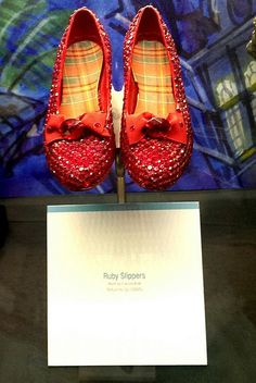 Ruby Slippers from Return to Oz