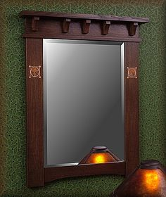 Craftsman Mirrors, Craftsman Frames, Craftsman Home Decor, Craftsman Lighting, Craftsman Furniture, Craftsman Interior, Craftsman Style, Arts And Crafts Furniture, Furniture Projects
