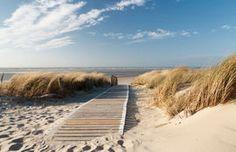 410 Strand Zee & Duin met Zonsondergang 420x270cm Fotobehang &lijm
