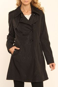 Via Spiga Haverstock Coat In Black -