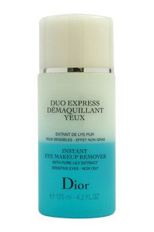 instant eye makeup remover by christian dior 4.2 oz