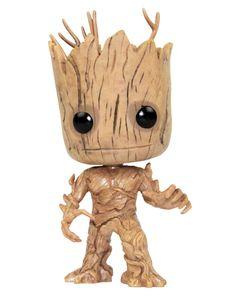 fa309358182b Guardians Of The Galaxy Groot Vinyl Bobblehead Figure. Vanilla Underground