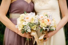 beautiful bouquets by The French Touch | www.onefabday.com