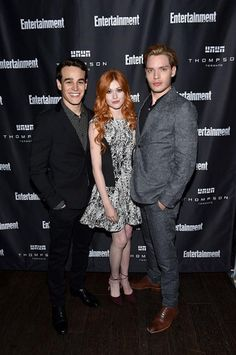Promotion for the show: Alberto, Kat, and Dom at the Entertainment Weekly party at the Toronto International Film Festival.