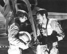 Behind the Scenes of Star Wars: Mark Hamill (Han) and Garrick Hagon (Biggs)