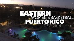 Eastern University Women's Basketball team traveled to Puerto Rico for their tournament. Off the court, the team had a great time exploring our island!