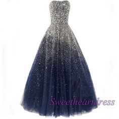 Sparkly poofy prom dress, ball gown 2016, gorgeous custom size evening dress for teens http://sweetheartdress.storenvy.com/products/14559810-stunning-strapless-sequins-long-a-line-evening-dress-gown #promdress