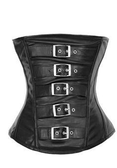 The Violet Vixen - Motorcycle Buckle Black Corset, $41.99 (http://thevioletvixen.com/corsets/motorcycle-buckle-corset/)