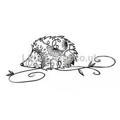 digi Swirly Whirlie Hedgehog