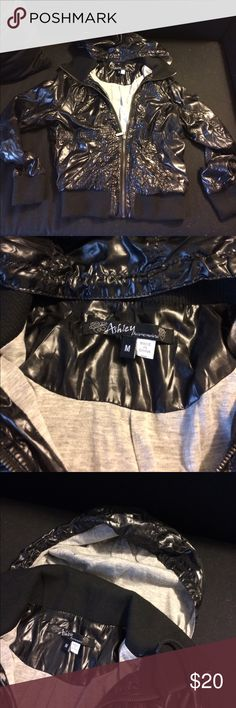 """""""Ashley"""" Black Coat from Hot Topic new without tags.....bought it a year or so ago and its just been sitting in my closet. size medium, on the shorter side in terms of length, and lightweight material. Hot Topic Jackets & Coats"""