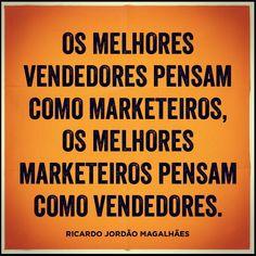 Marketing com cabeça de Vendas, Vendas com cabeça de Marketing.