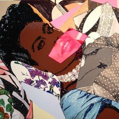 15 Female Artists to Follow On Instagram - Mickalene Thomas-Wmag Female Painters, Kids Art Projects, Western Art, Female Art, Collage Art Projects, Black Female Artists, Feminist Art, Female Artists, American Artists