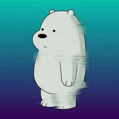 snapenapeofme Best ever. all is blue We Bare Bears Wallpapers, Panda Wallpapers, Cute Cartoon Wallpapers, Ice Bear We Bare Bears, We Bear, Anime Chibi, Kawaii Anime, Fan Anime, Anime Art