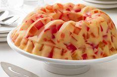 Ελαφρύ ζελέ γιαούρτι με φρούτα συνταγή. Υγιεινό, γευστικό και δροσερό γλυκό επιδόρπιο! Ποιος είπε ότι τα γλυκά έχουν πολλές θερμίδες και λίγες βιταμίνες;