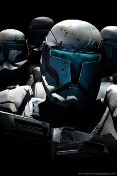 Clone Commando: Also known as a Republic commando and later an Imperial… Star Wars Clone Wars, Star Wars Art, Star Trek, Star Wars Pictures, Star Wars Images, Starwars, Estilo Geek, Republic Commando, Dc Comics