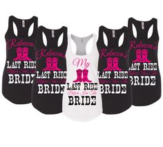Last Ride Before She's A Bride Bachelorette by CustomDesigns43