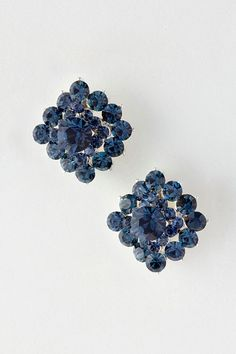 Sapphire Crystal Di Earrings | Emma Stine Jewelry Earrings. I couldn't wear these but they are beautiful!