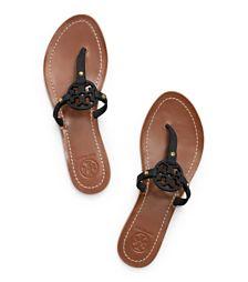 Tory Burch Mini Miller Flat Thong Sandal