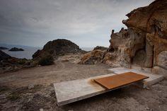 Disfrutaríamos encantados de unos aperitivos de salmón en este impresionante mirador ! 01-emf-landscape-architecture-mirador-portalo « Landscape Architecture Works   Landezine