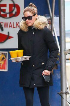 Los zumos de frutas y verduras de las celebrities para perder peso: Olivia Palermo