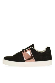 CHIME Stripe Lace-Up Trainers