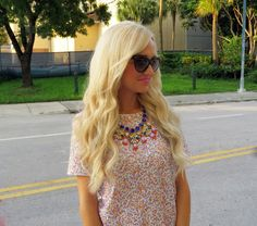 A Spoonful of Style sequins and @ILY COUTURE statement necklace