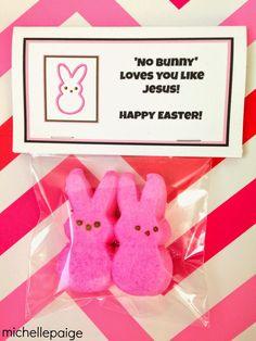"""Free """"No Bunny"""" Loves You Like Jesus printable"""