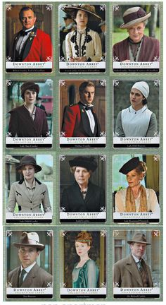 2014 Cryptozoic Downton Abbey Season 1 2 314 Trading Card Master Set Binder..