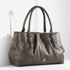 Vera Wang bag.. just got this at Kohl's and love it. So big with lots of pockets..perfect for travel