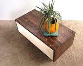 Coffee Table-Handmade Mid Century Modern Light by TinyLionsDesigns