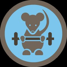 I unlocked the Gym Rat Badge on Foursquare -- pretty dang proud.  10x trips in 30 days to the gym.  Bring it.