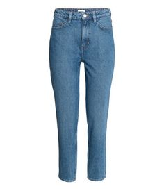 Loose fit Regular Jeans | Denimblå | Dam | H&M SE