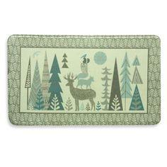 Cute for a kid's bathroom. Bacova Forest Folk Memory Foam Mat - BedBathandBeyond.com