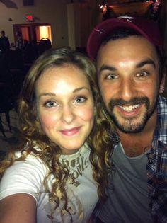 Me and Rhett from Rhett Walker Band!!!:)