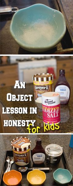 An Object Lesson for Kids on Honesty - Over the Big Moon A hands on way to teach your kids about honesty. This Object Lesson for Kids on Honesty opens up great dialogue and will be a lesson your kids don't forget!