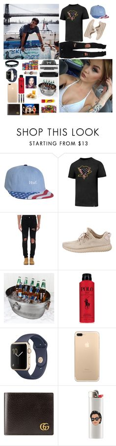 """"" when push comes to shove , you show me love ""- Jason"" by the-crazy-anons ❤ liked on Polyvore featuring HUF, '47 Brand, AMIRI, adidas, Dibor, Ralph Lauren, Gucci, men's fashion and menswear"