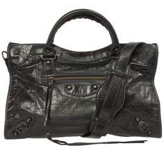 Balenciaga Classic City Lambskin Hand Carry and Shoulder Bag
