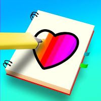 Color Me Happy Mod Apk All Pencils And Frames Are Open Disabled Ads Color Me Colorful Pictures Marker Drawing