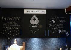 DIY Sinterklaas krijtbord