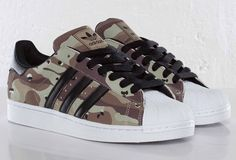 "adidas Originals Superstar II ""Desert Camo"""