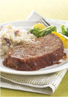 Easy Pleasing Meatloaf – Hearty stuffing and tangy BBQ sauce give this classic comfort food extra appeal. Plus, check out the ingenious prep technique that makes cleanup a breeze.