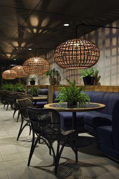The Stables at Royal Randwick by Woods Bagot Modern Restaurant Design, Deco Restaurant, Restaurant Lighting, Rustic Restaurant, Design Café, Deco Design, Cafe Design, Restaurant Interior Design, Shop Interior Design