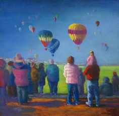 winter ballon watching