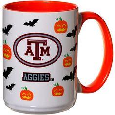 Texas A&M Aggies 15oz. Inner Color Orange Halloween Mug - $11.99