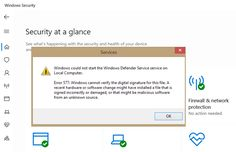 Windows Defender Digital Signature, Windows Defender, Pc Repair, Microsoft Windows, Verify, Bluetooth, How To Find Out, Messages, Amazon