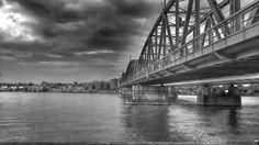 m i l l e n i u m   c i t y | © Alen Velagić | #enjoy #Vienna | #brücke #brücken #bridge #bridges #catwalk #gangway #overpass #footbridge #ubahn #metro #underground #subway #tube #tram #streetcar #trolley #tramcar #cablecar #trolleycar #danube #river #donau #fluss #wien #austria #österreich #architecture